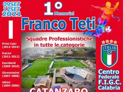 1° Memorial Franco Teti